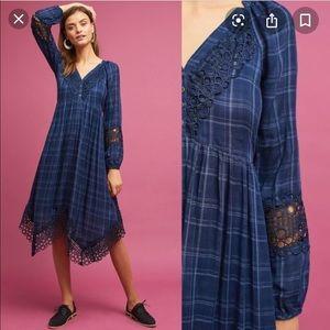 Anthropologie Akemi and Kin plaid dress size 8